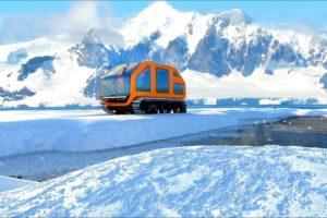 Το πρώτο ηλεκτροκίνητο όχημα για την εξερεύνηση της Ανταρκτικής