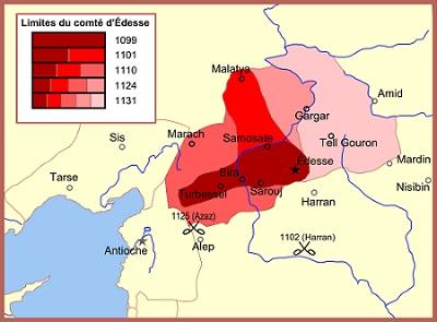 Κομητεία της Έδεσσας- Ένα από τα Σταυροφορικά κράτη του 12ου αιώνα