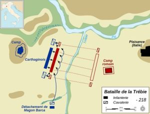 Μάχη του ποταμού Τρεβία (218 π.Χ.) – Ο Αννίβας συντρίβει τους Ρωμαίους