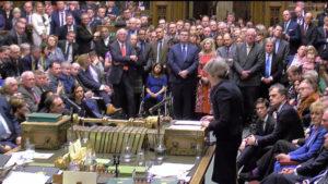 """Brexit: """"Όχι"""" από το Βρετανικό κοινοβούλιο"""