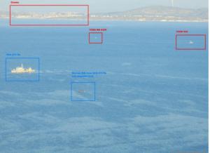 Με την «ουρά στα σκέλια» οι Τούρκοι: Πλοίο του ΛΣ έδιωξε την τουρκική ακτοφυλακή στα Στενά της Χίου