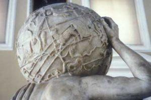 Aγαλμα του Ατλαντα επωμίζεται τον χαμένο αστρικό χάρτη του Ιππάρχου