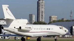 Πτήση- μυστήριο! Υπό άκρα μυστικότητα το κυβερνητικό σκάφος της Βενεζουέλας στην Αθήνα! . ΑΦΗΣΕ ΧΡΥΣΟ ΚΑΙ ΧΡΗΜΑ ΠΡΟΣ ΦΥΛΑΞΗ?