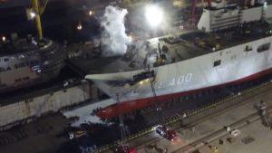 Στις φλόγες το TCG Anadolu: Σοβαρές ζημιές για το αεροπλανοφόρο της Τουρκίας – Κόλαση στα ναυπηγεία Tuzla . ΤΟ ΕΚΑΨΑΝ ΕΛΛΗΝΕΣ ΚΟΜΑΝΤΟ ΛΕΝΕ ΟΙ ΤΟΥΡΚΟΙ
