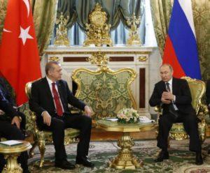 """Συνάντηση Πούτιν Ερντογάν: """"Στάζει μέλι"""" ο Ρώσος Πρόεδρος για τη συνεργασία με την Τουρκία"""