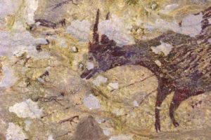Βραχογραφία 44.000 ετών ανακαλύφθηκε σε σπήλαιο - Η αρχαιότερη σκηνή κυνηγιού στον κόσμο