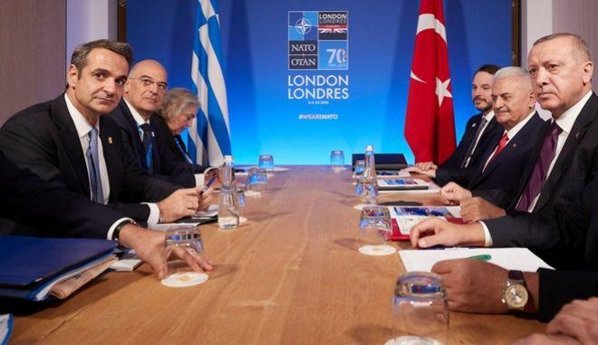 Μητσοτάκης: Συζητήσαμε ανοιχτά με Ερντογάν, καταγράψαμε τις διαφωνίες