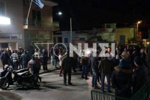 Νέα ένταση στη Μόρια! Κάτοικοι χτύπησαν τις καμπάνες του χωριού