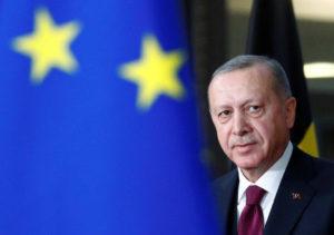 O Ερντογάν αποχώρησε χωρίς δηλώσεις από το Ευρωπαϊκό Συμβούλιο