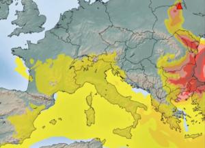 Η εξάπλωση των ραδιενεργών σωματιδίων στην Ευρώπη και οι επιπτώσεις από τις πυρκαγιές της Ουκρανίας
