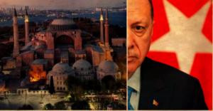 Νέα ιταμή πρόκληση Ερντογάν: Θα διαβαστεί στην Αγιά Σοφιά προσευχή για την Άλωση!