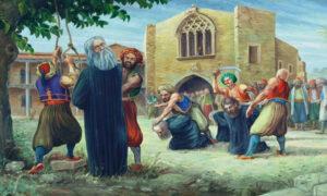 9 Ιουλίου 1821: Οι σφαγές στην Κύπρο και ο απαγχονισμός του Αρχιεπισκόπου Κυπριανού από τους Τούρκους