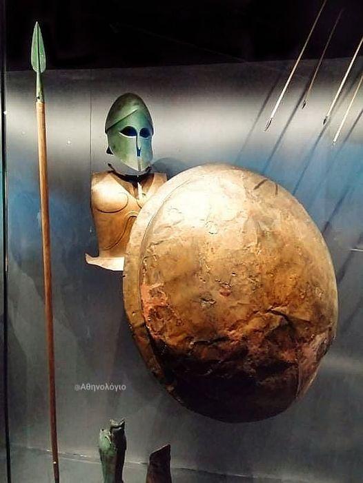 Η εκπληκτική ανασύνθεση ενός Αρχαίου Ελληνα οπλίτη