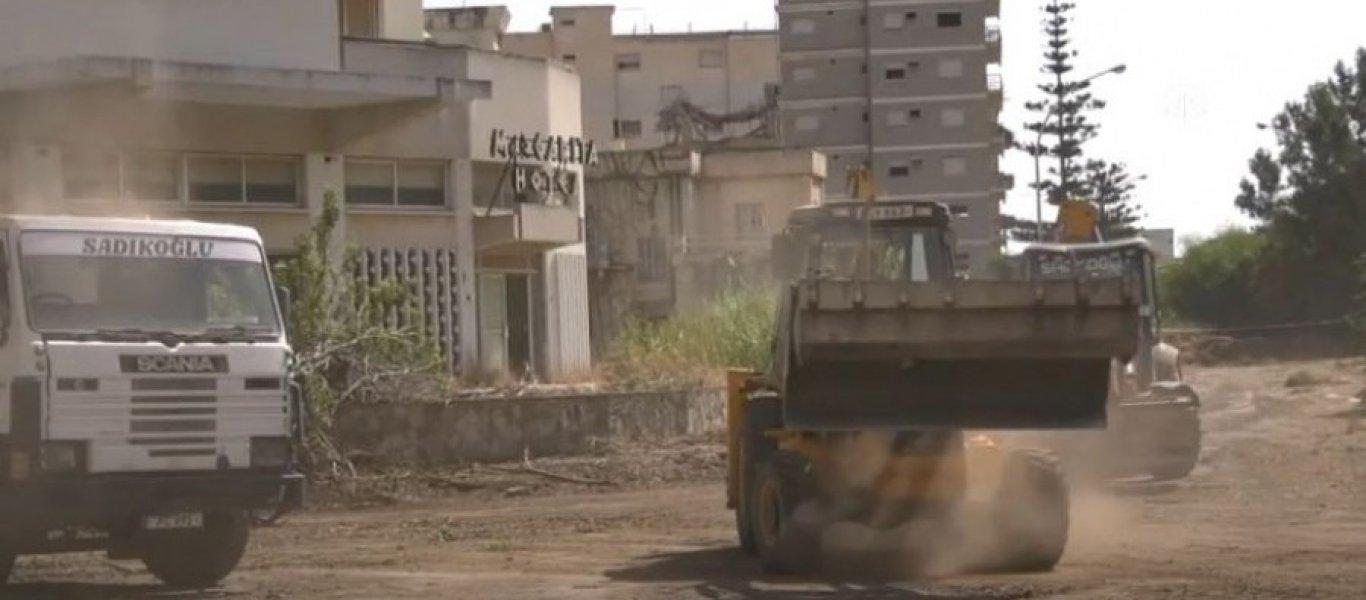 Προσάρτηση Βαρωσίων από Τουρκία: Βίντεο από τις ετοιμασίες - Τράβηξαν τα συρματοπλέγματα