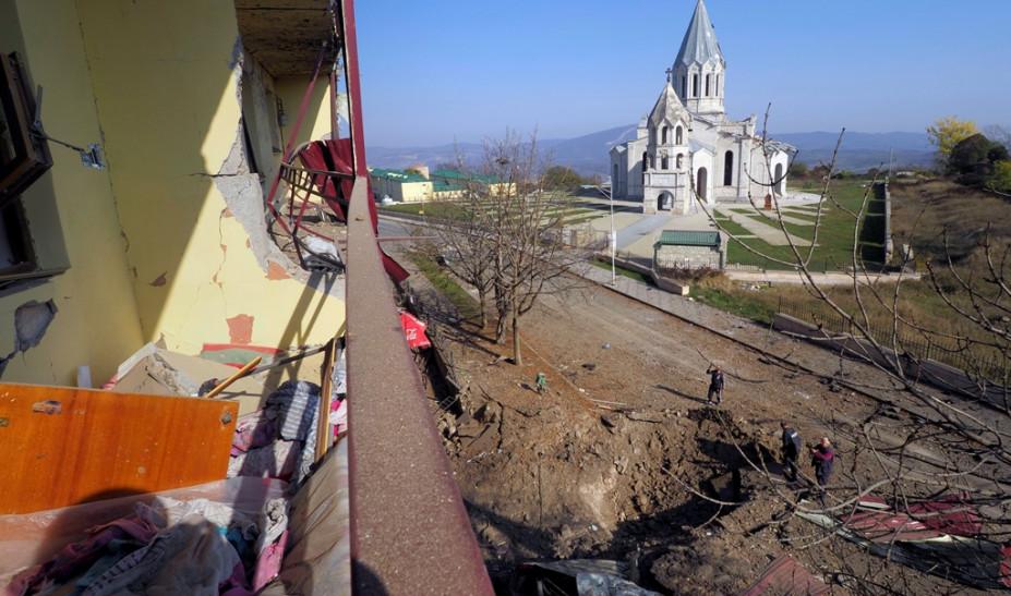 """Ναγκόρνο Καραμπάχ: """"Το πολύ"""" 5 χλμ από τη πόλη Σούσα οι αζερικές δυνάμεις"""