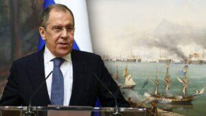 Ρωσικό ΥΠΕΞ : Θύμισε στην Τουρκία τη «Ναυμαχία στο Ναυαρίνο» και τη βύθιση του Οθωμανικού Στόλου