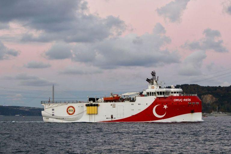 Oruc Reis : Κοντά στις ακτές της Ρόδου το τουρκικό ερευνητικό