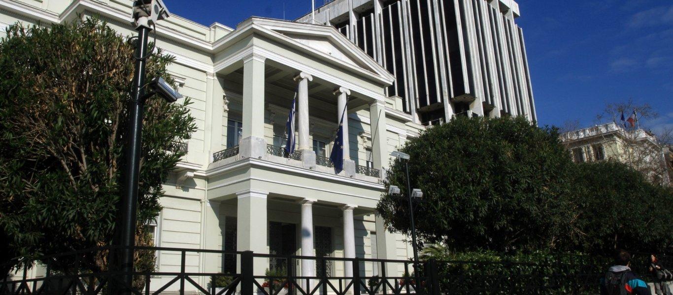 ΥΠΕΞ: Ανάκληση Έλληνα πρέσβη από το Μπακού - «Για τις ανυπόστατες και προσβλητικές κατηγορίες από τον Αζέρο πρόεδρο»