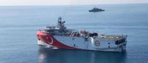 """Oruc Reis: """"Έγλειψε"""" τα 6 ναυτικά μίλια από την Στρογγύλη"""