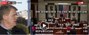 Καθαίρεση Τραμπ: Οριστική κι επίσημη η δεύτερη παραπομπή από το Κογκρέσο