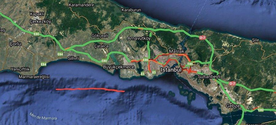 Ανωμαλία στο υποθαλάσσιο ανάγλυφο της θάλασσας του Μαρμαρά. Γίνεται λόγος για ρήγμα και επικείμενο καταστροφικό σεισμό!