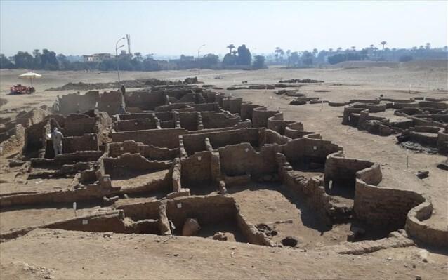 «Αιγυπτιακή Πομπηία» έφερε στο φως η αρχαιολογική σκαπάνη