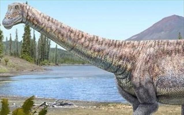 Ο τιτανόσαυρος της ερήμου που δεν ήταν… έρημος