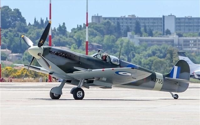 Στην Ελλάδα από το Ηνωμένο Βασίλειο το ανακατασκευασμένο Spitfire MJ755