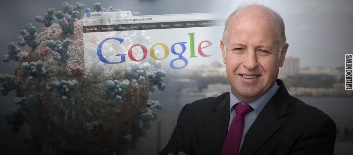 Αποκάλυψη: Και η Google πίσω από την δημιουργία του Covid-19; – Επί 10 χρόνια χρηματοδοτούσε τον «ύποπτο» P.Daszak