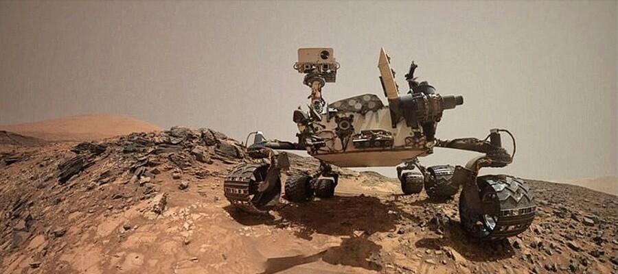 «Κόκκινος πλανήτης»: Το Curiosity «βρήκε» νερό στον κρατήρα Gale - Κατοικήσιμος για πάνω από 1 εκατ. χρόνια ο Άρης