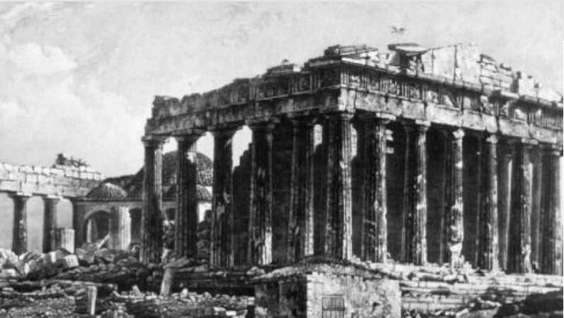 Η πρώτη φωτογραφία του Παρθενώνα - Πώς ήταν η Ακρόπολη το 1839