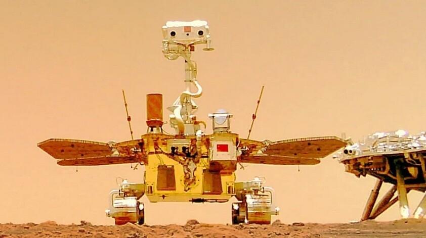 Το πρώτο του βίντεο από τον Άρη έστειλε το κινεζικό ρόβερ Zhurong