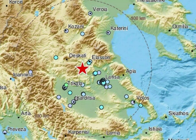 Σεισμός στην Ελασσόνα: «Δεν θα μας εκπλήξει μετασεισμός ακόμη και 5 Ρίχτερ»