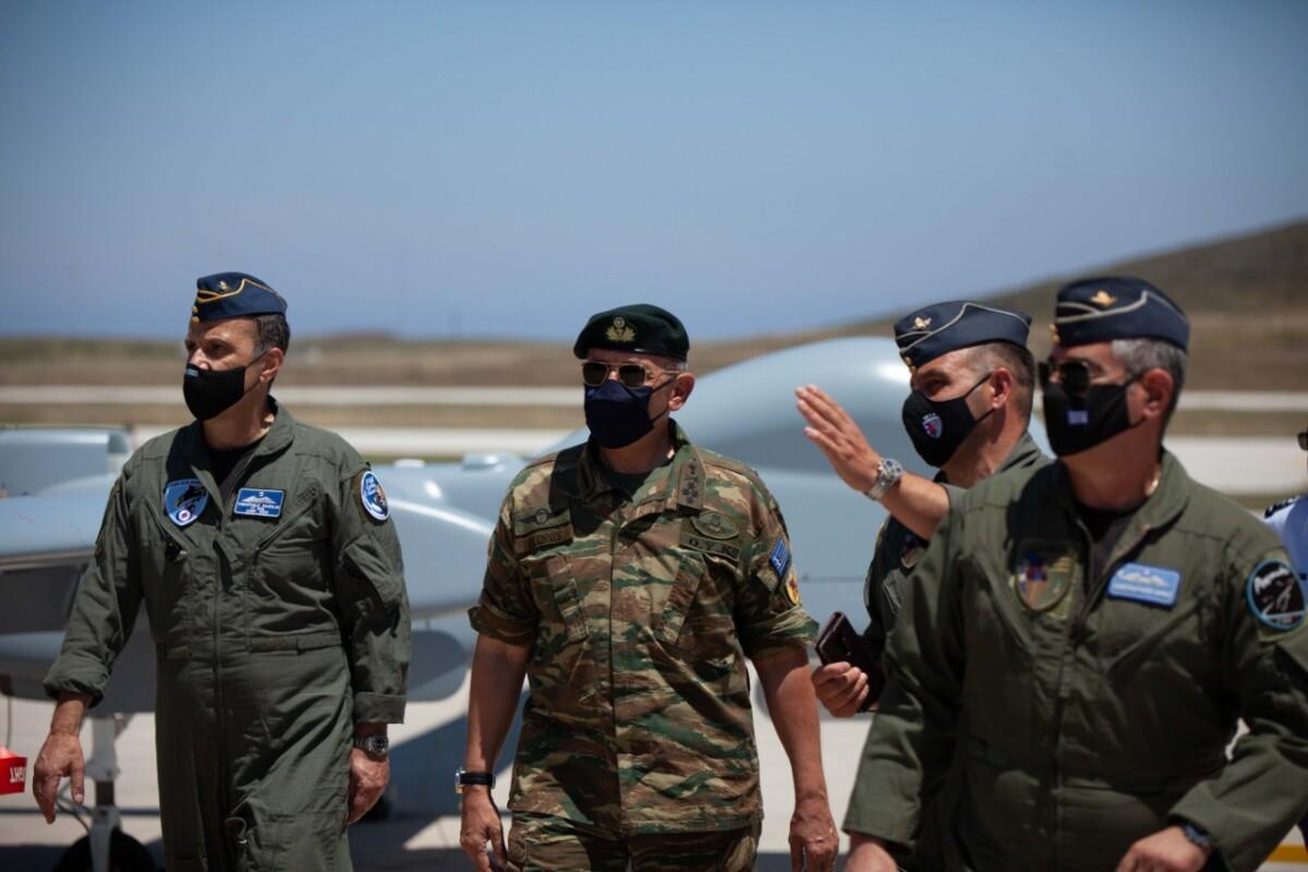 Τα Heron «κλειδώνουν» το Αιγαίο από τις προκλήσεις των Τούρκων - Στο «ορμητήριο» της Σκύρου δίπλα στα μαχητικά επιφυλακής
