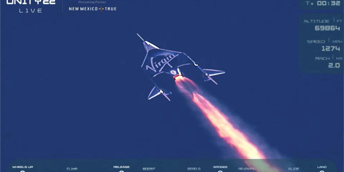 Ρίτσαρντ Μπράνσον: Έγραψε ιστορία ο Βρετανός δισεκατομμυριούχος με το πρώτο διαστημικό ταξίδι του