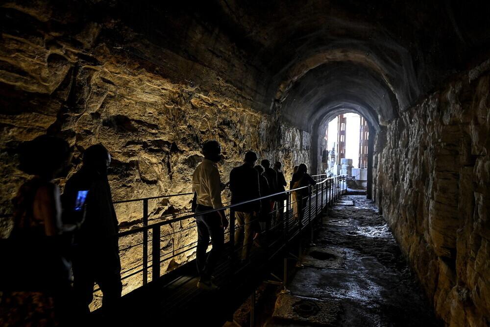 Οι σήραγγες των μονομάχων κάτω από το Κολοσσαίο ανοίγουν για πρώτη φορά στο κοινό