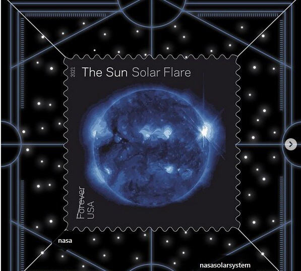 Εντυπωσιακή σειρά γραμματοσήμων από την NASA