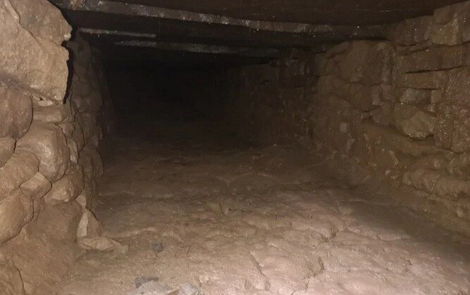 Το μεσαιωνικό κρυφό τούνελ που ανακαλύφθηκε κατά λάθος
