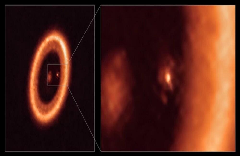 Σπουδαία ανακάλυψη: Βρέθηκαν δίσκος και δορυφόροι γύρω από πλανήτη 370 έτη φωτός μακριά από τη Γη