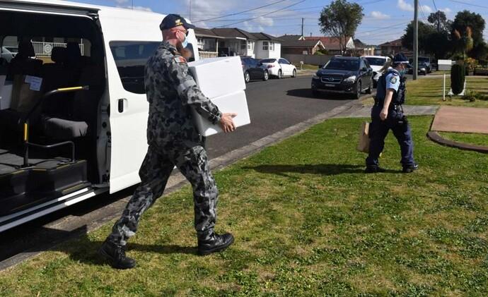Αυστραλία: Στρατός στους δρόμους του Σίδνεϊ για τήρηση του lockdown